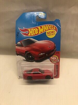 Hot Wheels 2017 Kmart '95 Mazda RX-7 red exclusive