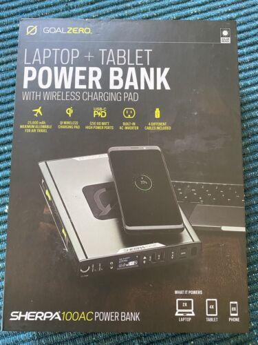 sherpa 100ac power bank wireless charging new