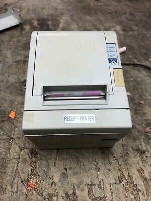 Epson Tm-t88iiip Point Of Sale Thermal Printer M129c With Power Supply