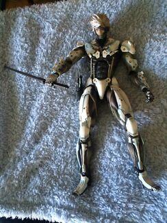 Metal Gear Raiden collectable figure Bligh Park Hawkesbury Area Preview