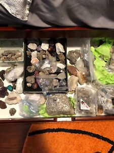 Massive Rocks and Minerals Collection