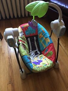 Fisher Price baby swing - Limited Jungle Snoozer Edition