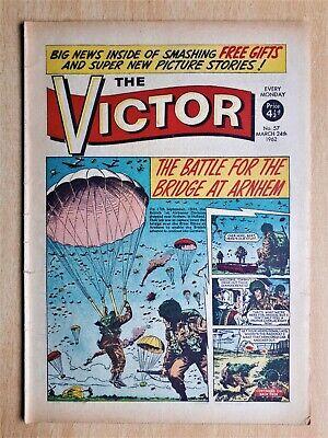 The Victor Comic #57 24th March 1962 Jack Warner The Bridge At Arnhem WW2 Strips