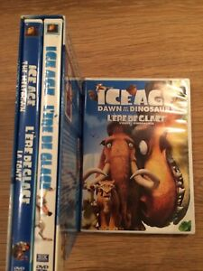 Ice Age Trilogy DVDs