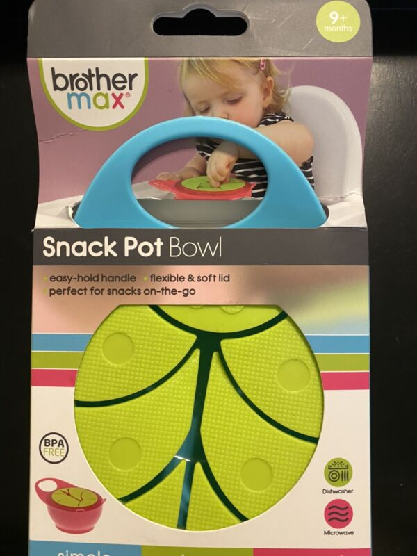 baby snack pot bowl