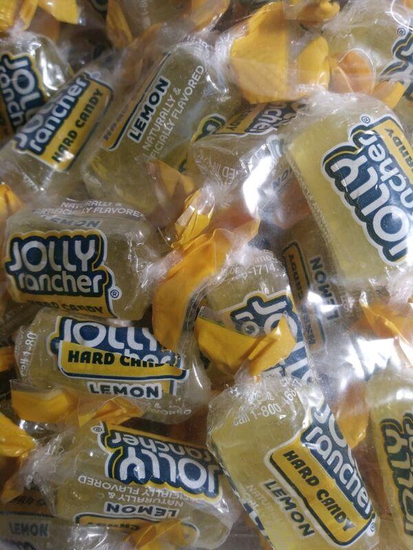 Jolly Rancher LEMON FLAVOR 6 ozs.HARD CANDY/FREE SHIPPING!!!