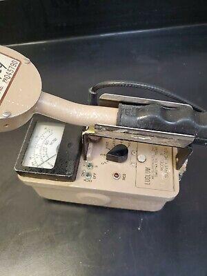 Ludlum 3 Survey Meter Counter Radiometer