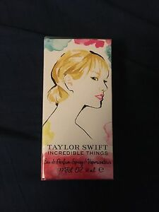 Taylor swifts incredible things purfume