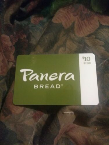 Panera Used Collectible Gift Card NO VALUE SV1860069 - $1.88