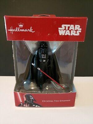 Hallmark Star Wars Darth Vader Christmas Tree Ornament NEW Seasonal Decor