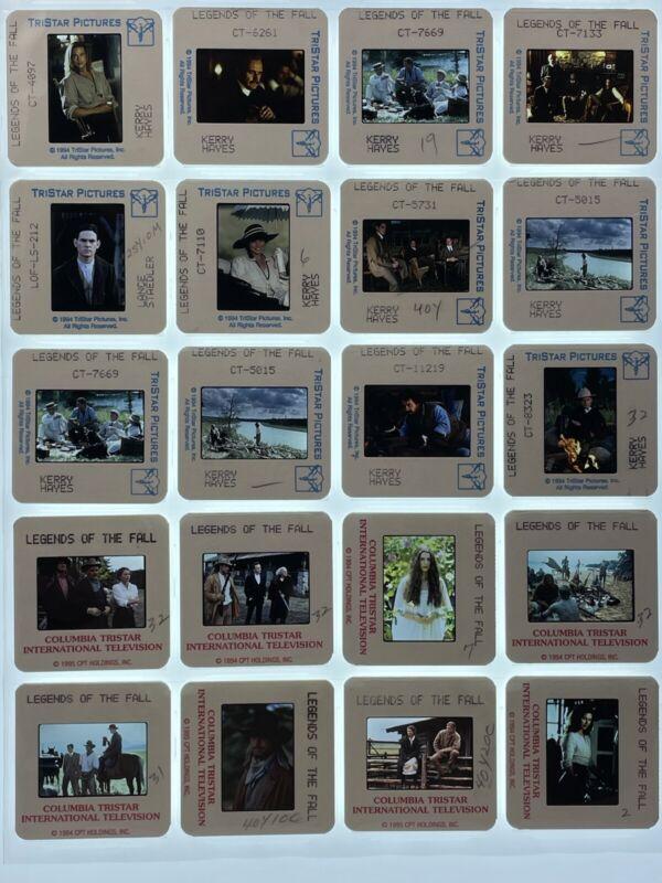 20 Legends of the Fall Movie 35mm Slides Press Kit Promo Brad Pitt Lot #2