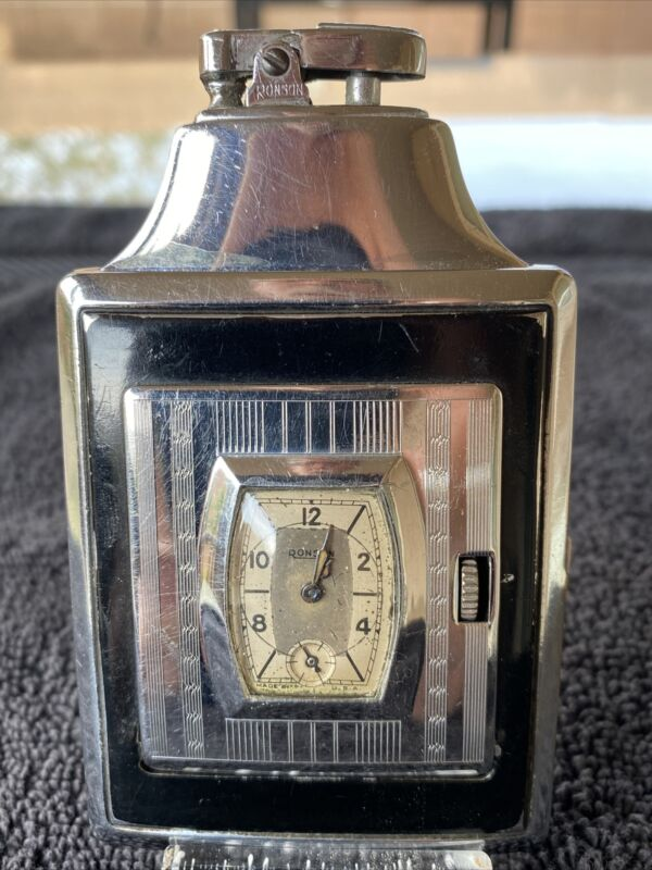 RONSON MASTERCASE WITH WATCH