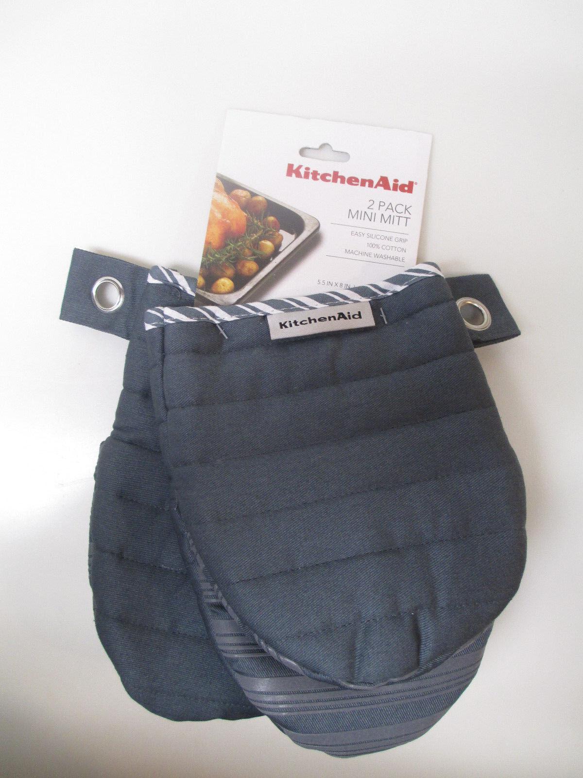 kitchenaid oven mitts. KitchenAid-2-pack-of-mini-oven-mitt-mitts- Kitchenaid Oven Mitts