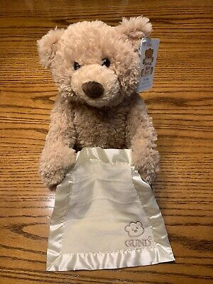 Baby Gund Peekaboo Talking Teddy Bear New With Tags