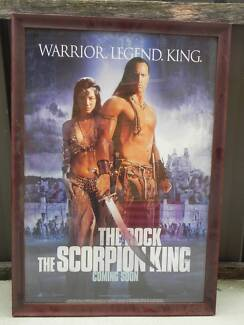The Scorpion King Movie Poster Queanbeyan Queanbeyan Area Preview