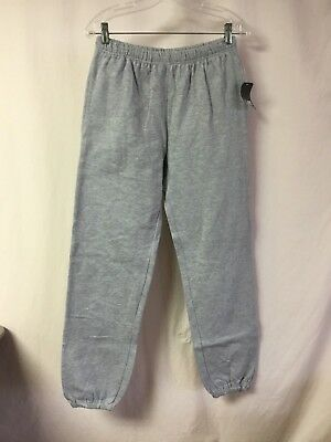 (NWT Men's Lee Sport Cotton Blend Sweatpants Size Small Ash Grey #785Z)