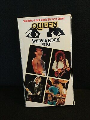 Queen We Will Rock You VHS 1992 Strand Home Video (Strand Videos)