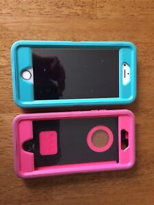 iPhone 6S Rose Pink and Two Otterbox Cases