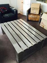 Stainless Steel Coffee Table Castle Cove Willoughby Area Preview