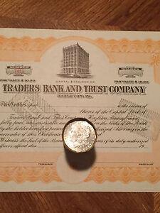 $20 SILVER DOLLAR ROLL 1889 & CC MINT MORGAN DOLLAR ENDS