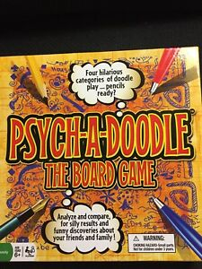 Psych-a-Doodle The Board Game - ages 6+