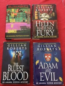 Gillian Roberts - 8 novels in the Amanda Pepper Mystery Series