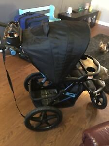 Baby Trend Expedition CLX Stroller in Artic blue