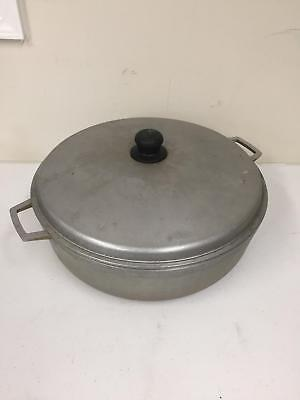 Imusa Cast Aluminum Caldero Cooking Pot Dutch Oven 12