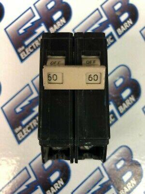 Cutler Hammer Ch260 60 Amp 2 Pole 240 Volt Circuit Breaker Plastic- Warranty