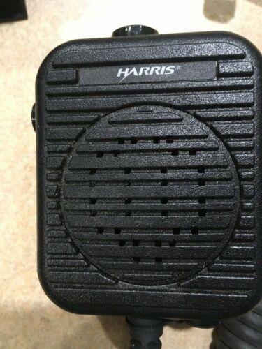 HARRIS KRY101 1617/383 Rev C Speaker Microphone w/ Clip