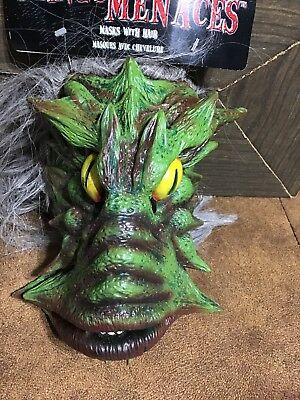 Halloween Monster Face Mask (Halloween face mask Mangy Menaces Werewolf ? Monster)