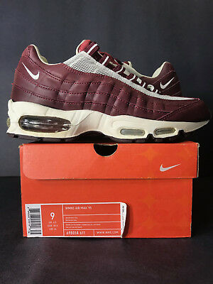 2004 DS NEW NIKE AIR MAX 95 REDWOOD SAIL WOMEN 9 MEN 7.5 PLAYSTATION STASH 8.5 7