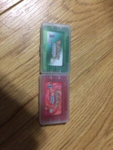 Pokemon emerald and fire red