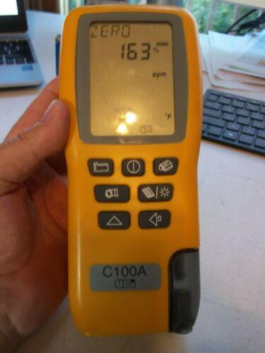 UEi C100A Combustion Analyzer w/ Probe & Manual