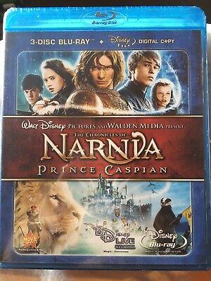 "3-Disc Combo ""Narnia-Prince Caspian"" ~Brand New"
