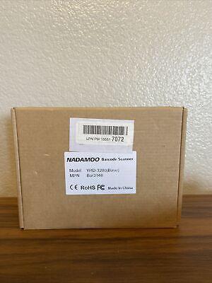 Nadamoo Bur3148 Mini Wireless Barcode Scanner  Base Portable Usb Image Reader
