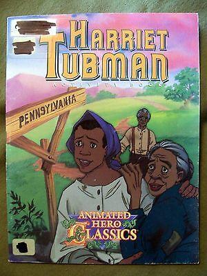 Animated Hero Classics  Harriet Tubman Activity Book  1996  Paperback