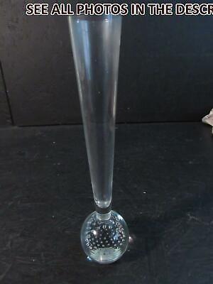 NobleSpirit No Reserve (EL) Leaded Glass  Single Flower Vase