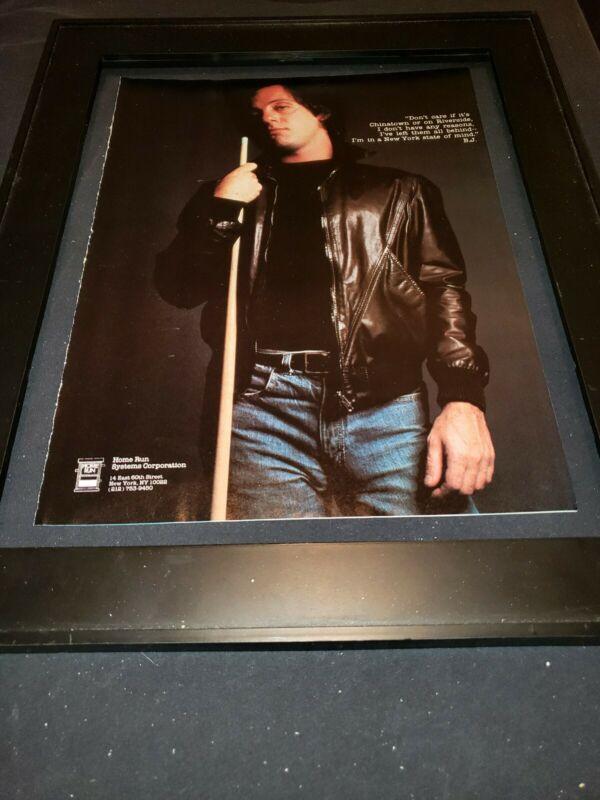 Billy Joel New York State Of Mind Rare Original Promo Poster Ad Framed!