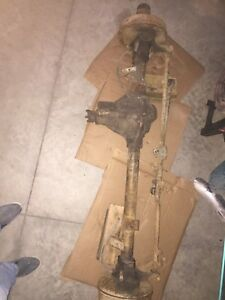 Dana 44 front axle assembly