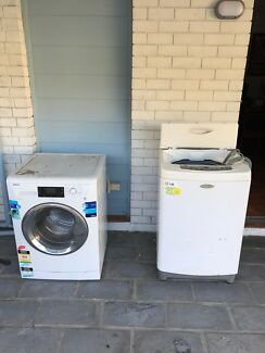 Washing machines for FREE pick up only