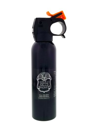 POLICE MAGNUM pepper spray 7oz ounce Riot Fire Master Fog Home Office Security