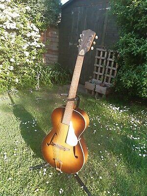 Framus Archtop Acoustic Jazz Guitar Vintage