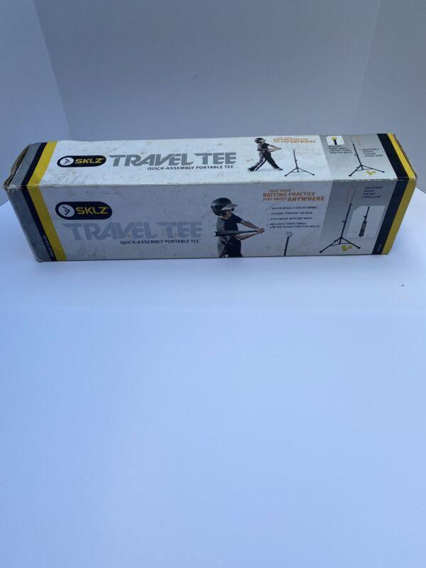 SKLZ Travel Tee Folding Baseball and Softball Batting Tee