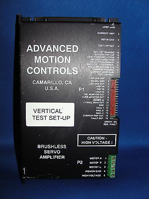 Advanced Motion Controls Brushless Servo Amplifier B30a8im