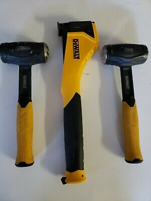 Dewalt Tools 2 3lb Heavy Duty Hammers And Hammer Tacker Dwhtht450