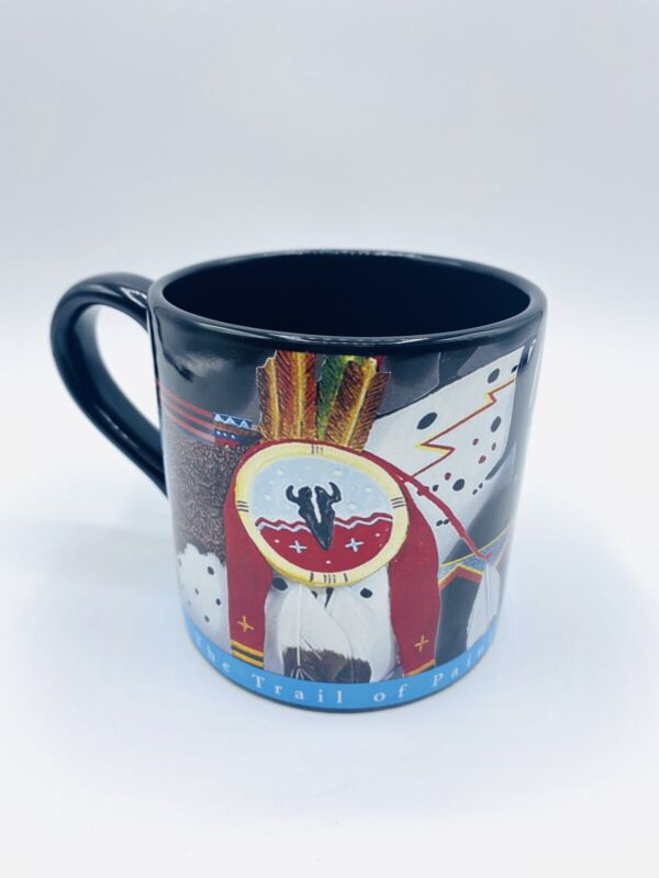 The Trail Of Painted Ponies Mug-War Pony By Rance Hood 2004
