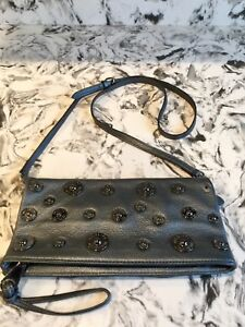 AUTHENTIC MULBERRY LEATHER CROSSBODY BAG