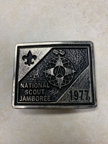 1977 National Jamboree Belt Buckle by Dale Annis