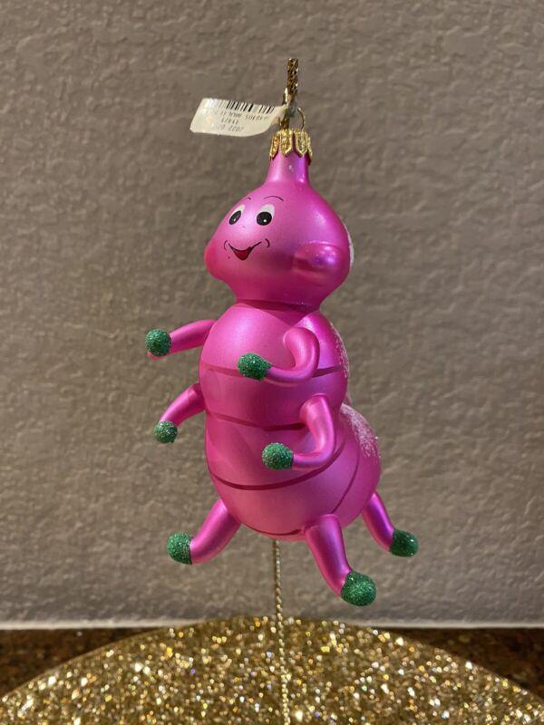 Soffieria De Carlini  Caterpillar  Ornament NWT